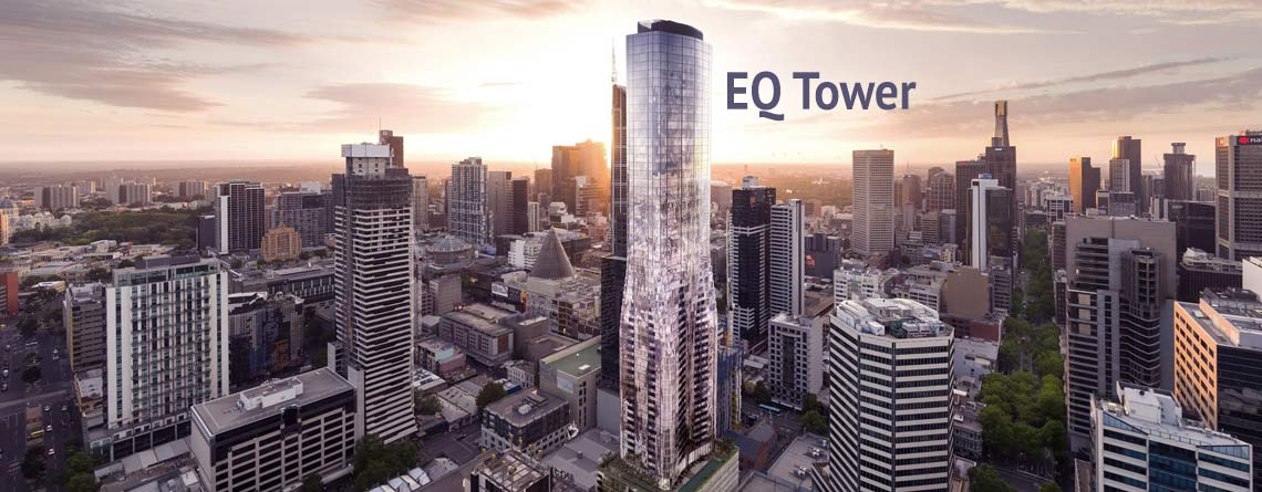 Curtain Wall Installation EQ Tower