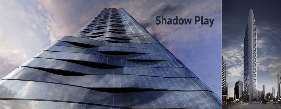 Facade Installers Shadow Play